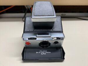 Polaroid SX-70 Instant Film Land Camera Alpha *FULLY FUNCTIONAL*
