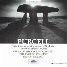 Purcell: Dido & Aeneas; King Arthur; Dioclesian; Timon of Athens; 3 Odes [Box Set] (CD, Nov-2003, 5 Discs, Archiv Produktion (DG Sub-Label))