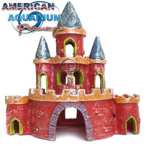 Tetra GloFish Large Castle Aquarium Ornament, Decoration from AAP