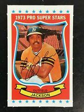 REGGIE JACKSON 1973 KELLOGG'S BASEBALL #22