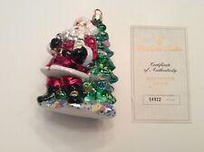 Radko Millennium Cheer Santa Ltd Edition with Box