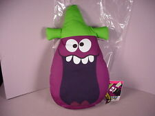 Funny Face drink mix Goofy Grape Pillow Toy advertising figure doll new w/tags