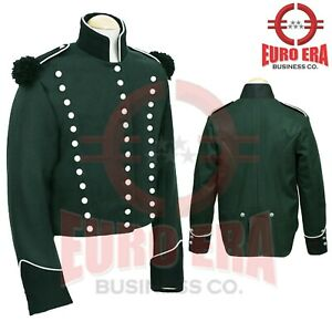 New Napoleonic 95th Rifles Officers Tunic Jacket, 95th Rifles Enlisted Jacket