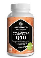 Coenzym Q10 hochdosiert 200mg Tagesportion 120 Kapseln für 4 Monate, VEGAN