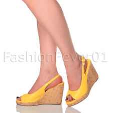 Unbranded Synthetic Wedge Slingbacks for Women