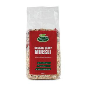 Organic Berry Muesli 500g - Free UK Delivery