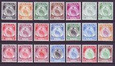 Malaya Negri Sembilan 1949 SC 38-58 MNH Set