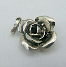 Rose Anhänger Silber 925/Trachtenschmuck