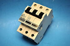 Altech Corp.# 3CU10 Miniature Din Rail Mount Circuit Breaker 3-Pole 10A 480/277V