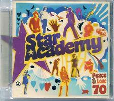 CD ALBUM 13 TITRES--STAR ACADEMY 7--PEACE & LOVE 70--2007