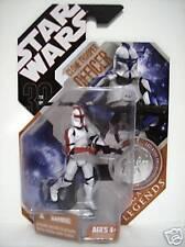 "CLONE TROOPER OFFICER Star Wars 30th Saga Legends 3 3/4"" inch Figure 2007"