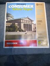Chicago consumer yellow pages.The red book 1985 (Illinois Bell) #1101