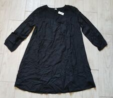 NWT Old Navy Smocked Swing Dress Size S small - black