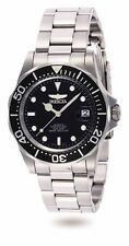 Invicta Men's Pro Diver Automatic 200m Black Dial Stainless Steel Watch 8926