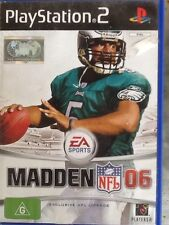 MADDEN NFL 06 Sony PlayStation 2 PS2 Game