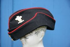 ROYAL REGIMENT OF WALES OFFICER'S COLOURED FIELD SERVICE CAP / SIDE HAT SIZE 60