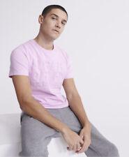Superdry Mens Embossed Pastel Line T-Shirt