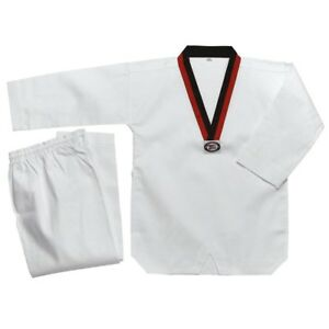 New Taekwondo Uniform TKD Student Dobok Set Taekwond Gi Uniform-POOM V-neck