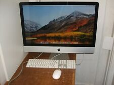"Apple iMac 27"" A1312 i7 Intel 2.8GHz 8 GB 2 TB High Sierra 10.13.4 Late 2009"