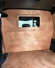 Citroen Berlingo/Peugeot Partner 2008> Plywood Wooden Bulkhead With Window Kit