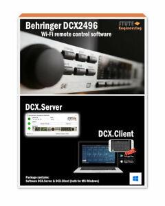 # TOP DCX.Server: Wi-Fi remote control software for Behringer DCX2496 #