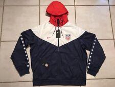 Rare NWT NIKE USA National Team Windrunner Hoodie Soccer Jacket Men's 2XL