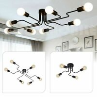 4 6 8 Way Metal Pendant Light Vintage Industrial Ceiling Lights Modern Lighting