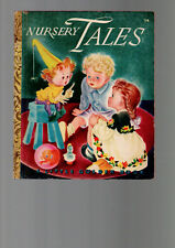 NURSERY TALES ILLUSTRATED BY MASHA   little golden book vintage edition