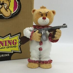 💗 'BAD TASTE BEARS' COLLECTABLE BEAR FIGURINE 'COCO' (PINKER TRIM) BOXED!