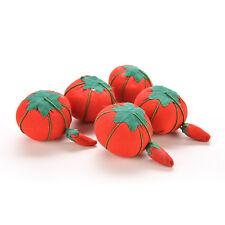 Tomato Needle Pin Cushion Soft Nice Tomato Shape Safety Storage EF