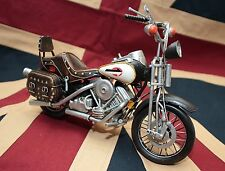 HARLEY DAVIDSON BIKE MOTORCYCLE tin toy tinplate blechmodell auto handmade