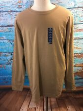 Stafford Blended Long Sleeve Crew Neck T-Shirt -XLarge - Premium Comfort