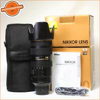 Nikon AF-S 70-200mm F2.8G VR II ED N AF Zoom Lens Free UK Post