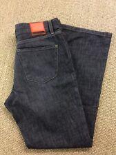 Mens HUGO BOSS W34 L30 Grey Denim Bootcut Jeans Superb