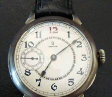 Vintage Men's Wrist Watch Omega Grand prix Paris 1900.