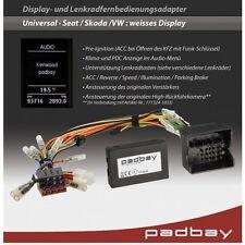 41-1324-802 Padbay Interfaccia Clarion per Seat, Skoda, VW Telecomando a volante