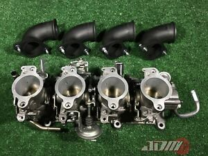 TOYOTA 4AGE 20valve INDIVIDUAL THROTTLE BODIES 4A-GE Black Top ITBs 22210-16761