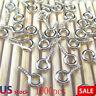 1000 Pcs/Set Small Tiny Mini Eye Pins Eyepins Hooks Eyelets Screw Threaded