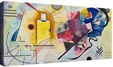 Quadro Moderno cm 120x60 Stampa su Tela Quadri Moderni Kandinsky Astratti Cucina