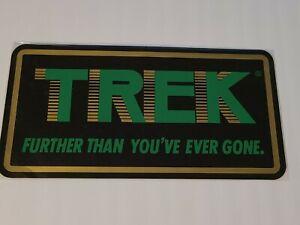 "Vintage NOS Trek Dealer Only Bicycle Bike Decal Sticker Huge 6"" x 12"" Un-used"