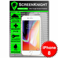 """ScreenKnight Apple iPhone 8 / 4.7"""" SCREEN PROTECTOR Military Shield"""