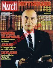 Paris Match n°1675 du 03/07/1981 Mitterrand Essei Sagawa Iran Lio Ariane Guyane