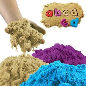 Motion Colourful 2KG Sand With Molds and Accessories Kids Children play