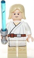 LEGO STAR WARS LUKE SKYWALKER TATOOINE FIGURE + LIGHTSABER - 8092 - 2010 - NEW