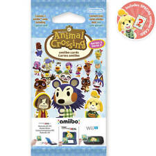 ANIMAL CROSSING AMIIBO CARDS SERIES 3 PACKET! 1 x PACKET OF 3 CARDS
