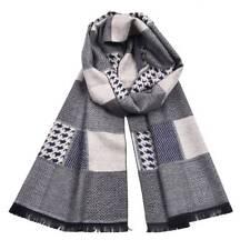 Fashion Scarf Houndstooth Scarves Winter Plaid Men's Winter Cashmere Scarfs