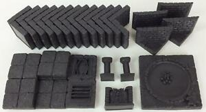 Dwarven Forge Dwarvenite Dungeons Unpainted Chamber of Sorrows Pack NM