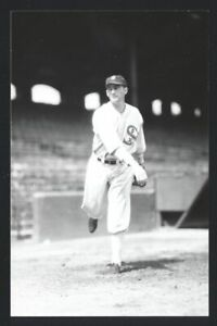 JIMMY MOORE Real Photo Postcard RPPC 1930 Chicago White Sox George Burke