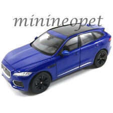 WELLY 24070 JAGUAR F PACE SUV 1/24 DIECAST MODEL CAR BLUE