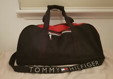 🔴 VINTAGE 90s TOMMY HILFIGER DUFFLE GYM BAG retro polo wotherspoon nautica gant